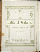 view Battle of Waterloo : great descriptive piece for the piano / by G. Anderson digital asset number 1