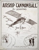 """view Airship """"Cannonball"""" is leaving / by Jess R. Batt digital asset number 1"""
