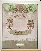 view The airships parade : march, two step / by T. Mayo Geary digital asset number 1