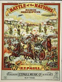 view Battle of the nations : march descriptive / by E.T. Paull digital asset number 1