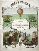 view The balloon polka = L'aëronaute A. Wallerstein digital asset number 1