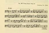 view No.100. Stomp Dance Song from Bulletin -- Smithsonian Institution, Bureau of American Ethnology. digital asset number 1