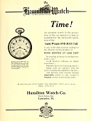 view Hamilton Watch Co. from Electric railway journal. digital asset number 1