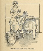 view Automatic electric washer from Popular electricity magazine in plain English. digital asset number 1
