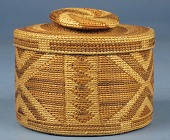 view Small Plaited Grass Basket digital asset number 1