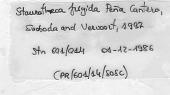 view Staurotheca frigida digital asset number 1