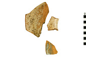 view Orange Ware Rim Sherds, Mexican Pottery Fragments digital asset number 1
