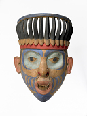 view Carved Wooden Mask digital asset number 1