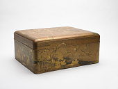 view Lacquered Stationery Box (Ryoshi-Bako) digital asset number 1