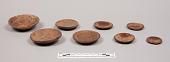 view Coconut Shell Disks (Set of 8) digital asset number 1