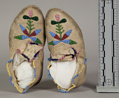 view Moccasins (Child's), (1 Pair) digital asset number 1