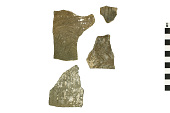 view Taos Plain Pottery Sherds, Prehistoric Southwestern Pottery Fragments digital asset number 1