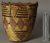 view Decorated Coiled Basket digital asset number 1