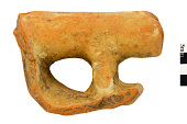 view Vessel Spout, Mexican Pottery Fragment digital asset number 1