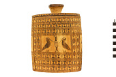 view Carved Wooden Container and Lid digital asset number 1