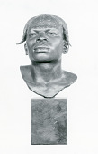 "view Bronze Bust - Native Man - ""Aruimi Man"", by Herbert Ward digital asset number 1"