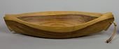 view Carved Wood Model Canoe digital asset number 1