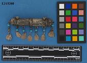 view Silver Amulet-Case, Tubular, Repousse Work digital asset number 1