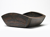 view Carved Wood Berry Dish digital asset number 1