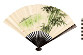 view Wood and Paper Fan digital asset number 1