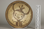view Bowl With Kachina Face In Center digital asset number 1