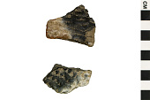view McDonald Corrugated Sherds, Prehistoric Southwestern Pottery Fragments digital asset number 1