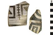 view Black-on-White Sherds, Southwestern Pottery Fragments digital asset number 1