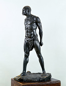 "view Bronze Statue & Base - ""Defi"" or ""Defiance"", by Herbert Ward digital asset number 1"