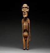 view Wooden Figure (Moai Kavakava) digital asset number 1