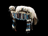 view Ermine Cap or Headdress, Beaded digital asset number 1