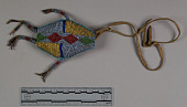 view Beaded Ornament, Turtle Amulet digital asset number 1