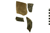 view Black Ware Sherds, Mexican Pottery Fragments digital asset number 1