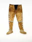 view Part of Clothing Set: Moccasin Pants or Trousers digital asset number 1