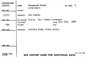 "view Turquois Drill ""O-Ku-Taa-I"" digital asset number 1"