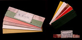 view Writing Paper In Five Colors (Goshiki Hosho-Shi Or Hosho-Gami) digital asset number 1