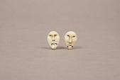 view Carved Ivory Earrings 2 digital asset number 1
