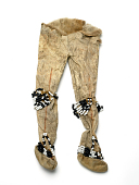 view Model Of Woman's Moccasin Trousers digital asset number 1