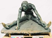 "view Bronze Statue & Base - ""L'Ecrivain"" or ""A Congo Artist"", by Herbert Ward digital asset number 1"