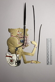 view Five minature wayang kulit (shadow puppets) digital asset number 1