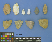 view Projectile Points, Scrapers And biface Fragments digital asset number 1