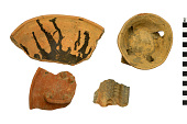view Ceramic Censer Fragments, Mexican Pottery Fragments digital asset number 1