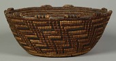 view Coiled basketry bowl digital asset number 1