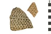 view Corrugated Sherds, Prehistoric Southwestern Pottery Fragments digital asset number 1