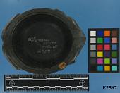 view Carved Argillite Vessel; Frog-Shaped digital asset number 1