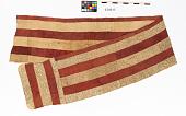 view Long wrapper skirt, raffia digital asset number 1