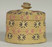 view Twined Basket And Lid (2) digital asset number 1
