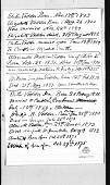 view Elihu Vedder papers digital asset: Family History Notes