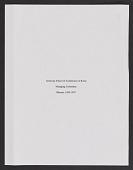 view Minute Books Vol. 1 (disbound) digital asset: Minute Books Vol. 1 (disbound)