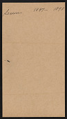 view Exhibition and Artwork (1897-1898 Season) digital asset: Exhibition and Artwork (1897-1898 Season)