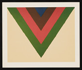 "view ""Early Works by Contemporary Masters, Caro, Francis, Frankenthaler, Gottlieb, Held, Louis, Olitski,"" 1983 September 6-October 8 digital asset: ""Early Works by Contemporary Masters, Caro, Francis, Frankenthaler, Gottlieb, Held, Louis, Olitski,"" 1983 September 6-October 8"